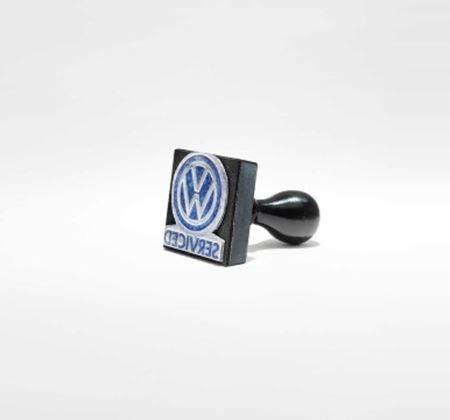 Volkswagen Service Stamp