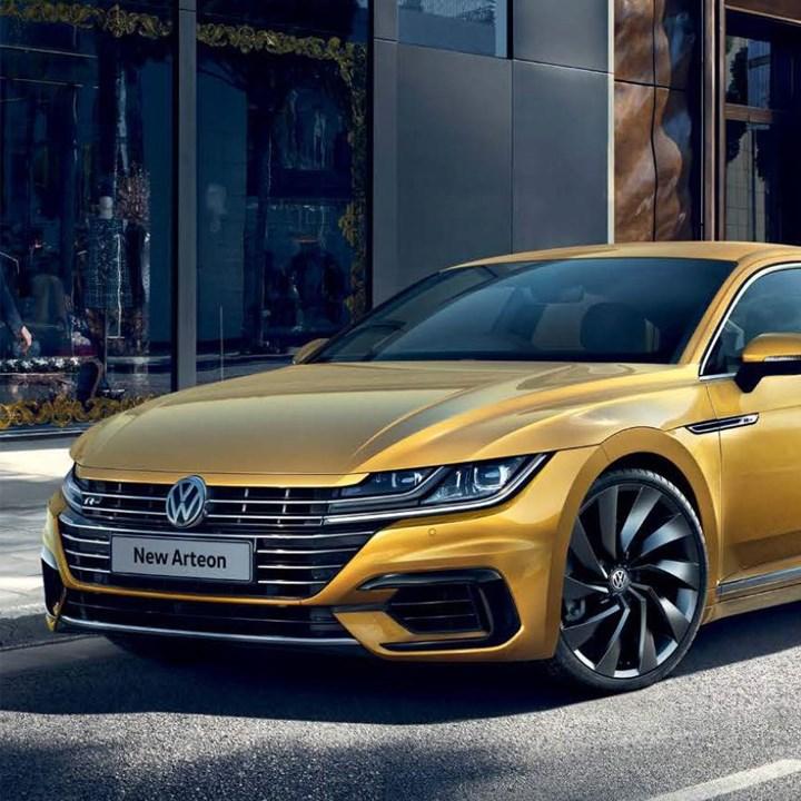 Gold Volkswagen Arteon