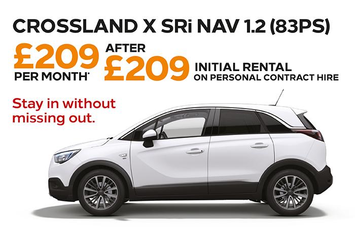 Crossland X SRi Nav