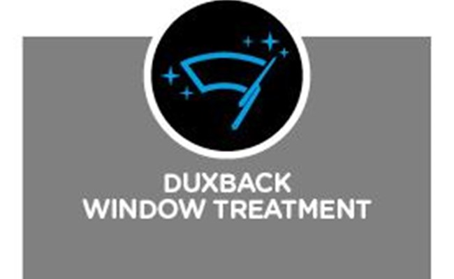 Duxback Window Treatment