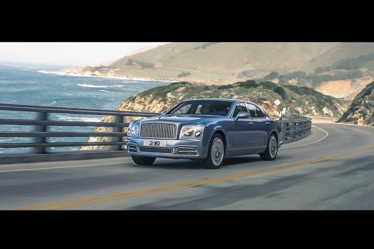 Bentley commemorates the Mulsanne with film