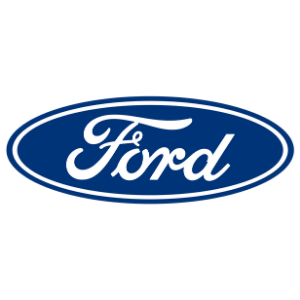 Ford logo white background