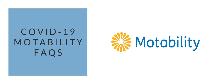 COVI-19 Motability FAQs