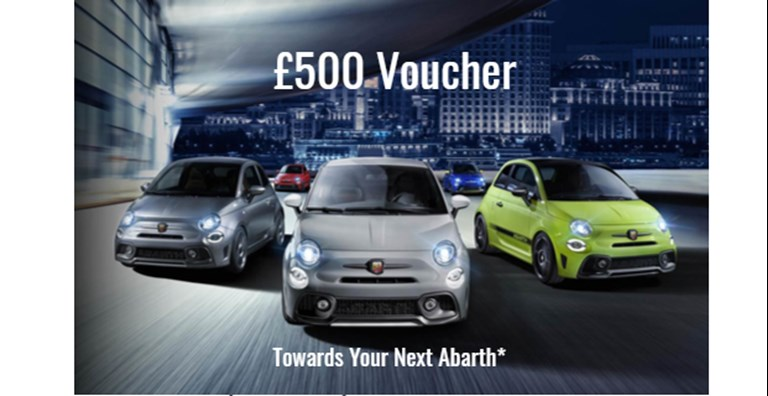 Abarth £500 Voucher
