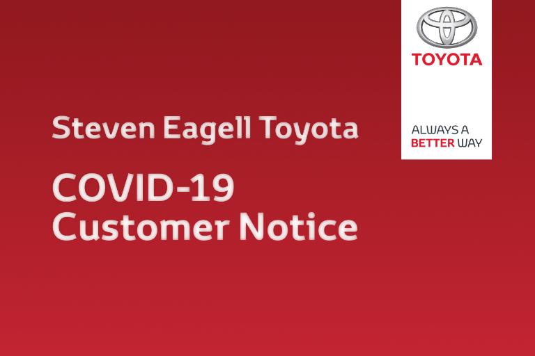 COVID-19 Customer Charter