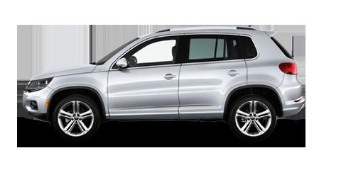 White Volkswagen Tiguan 2012