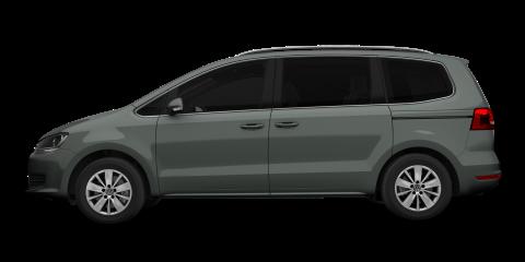 Grey Volkswagen Sharan