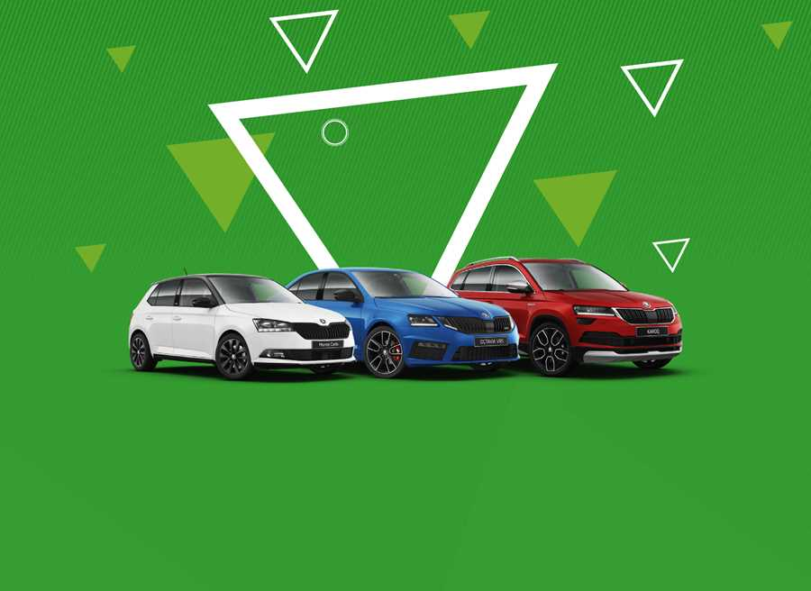 Discover our latest offers on an Approved Used SKODA including 24 months' Warranty,  24 months' Roadside Assistance, £79 for two Services and 6.9% APR when purchased on Solutions Personal Contract Plan