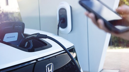 One of the first Honda Dealerships in the country to install the Honda Power Charger System