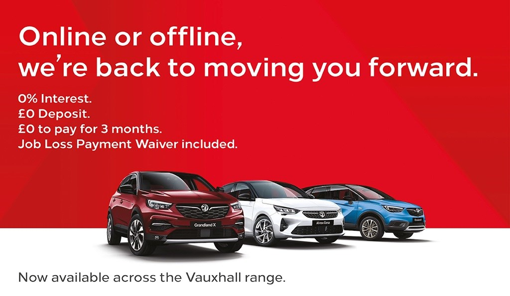 Online of Offline Vauxhall Offer