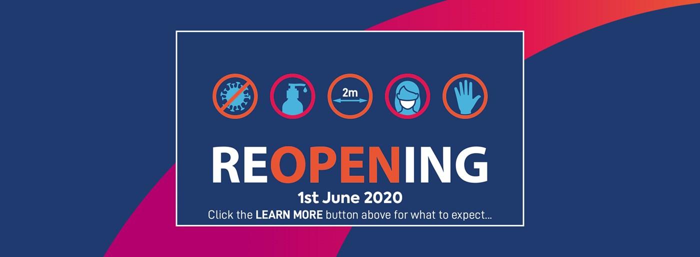 We're back - 1st June