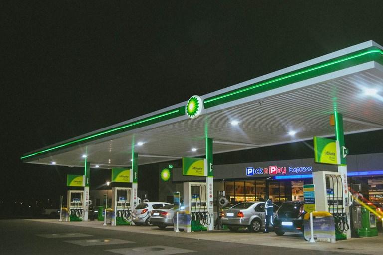 Petrol prices per litre dip below £1