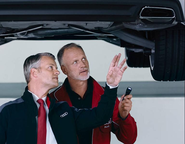 MOTs at Sinclair Audi