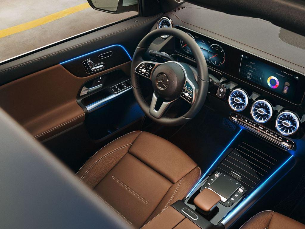 GLA-Class Interior