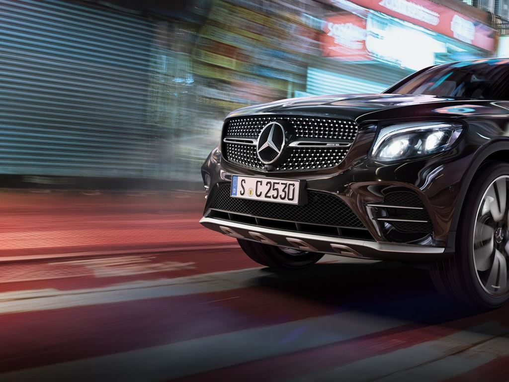 Black GLC Coupe