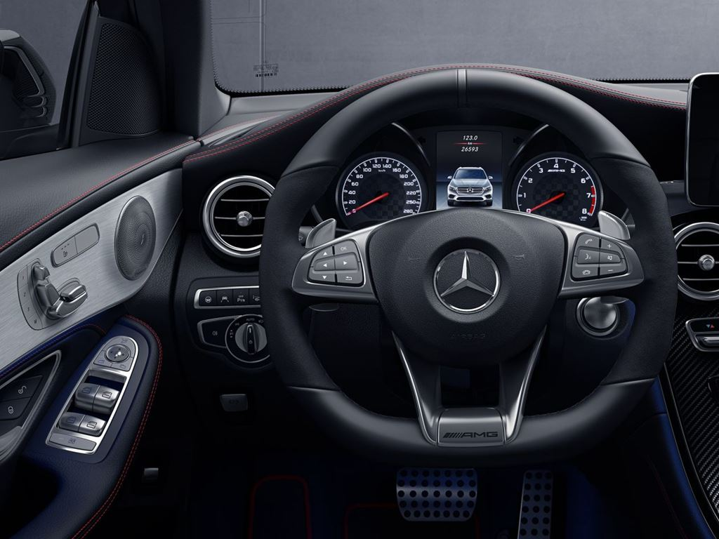 GLC Coupe Dashboard