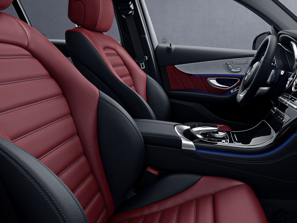 GLC Coupe Front Seats