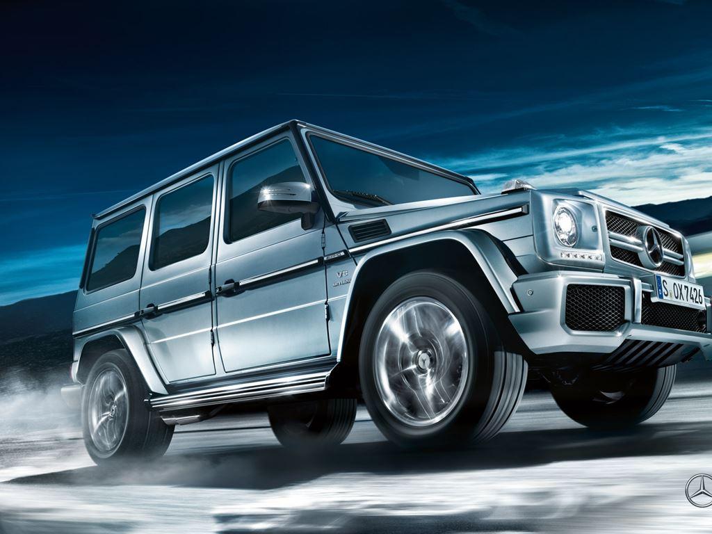 Silver G-Class