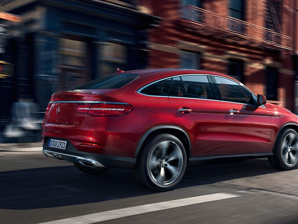 Red GLE Coupe
