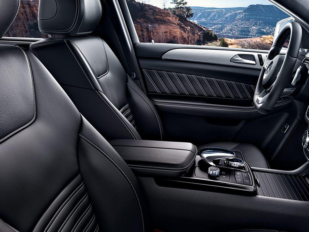 GLE Coupe interior