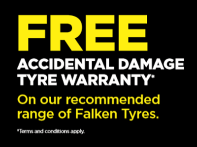 Free Accidental Damage Tyre Warranty