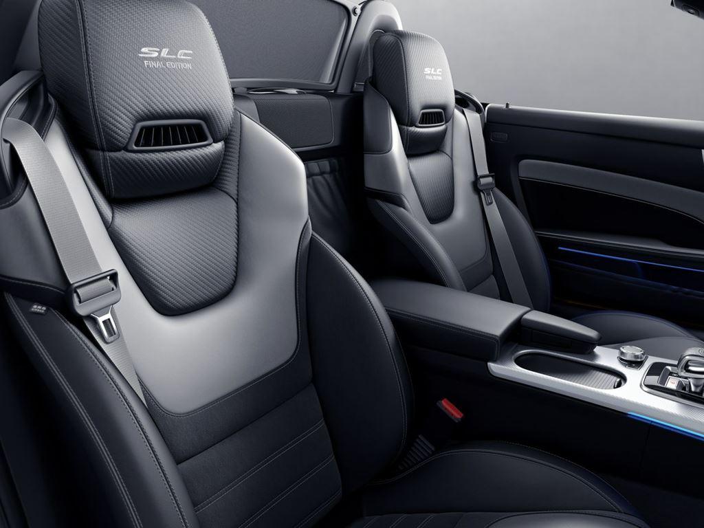 SLC Roadster Interior