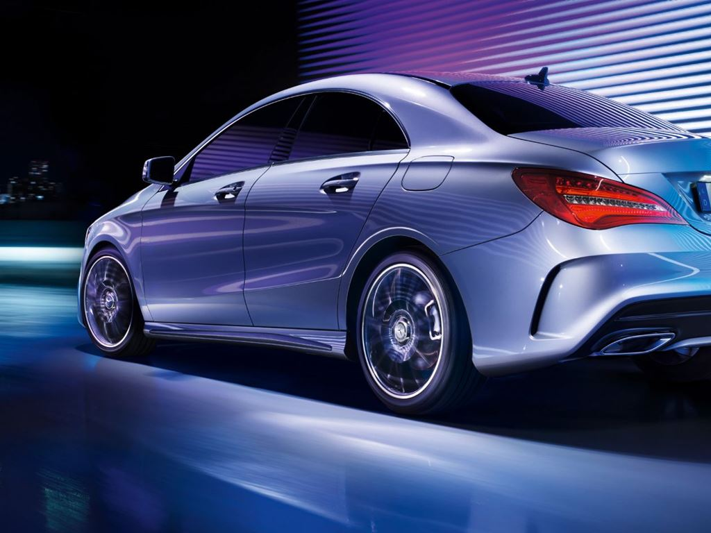 CLA Coupe Exterior