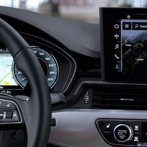 New Audi A4 Saloon