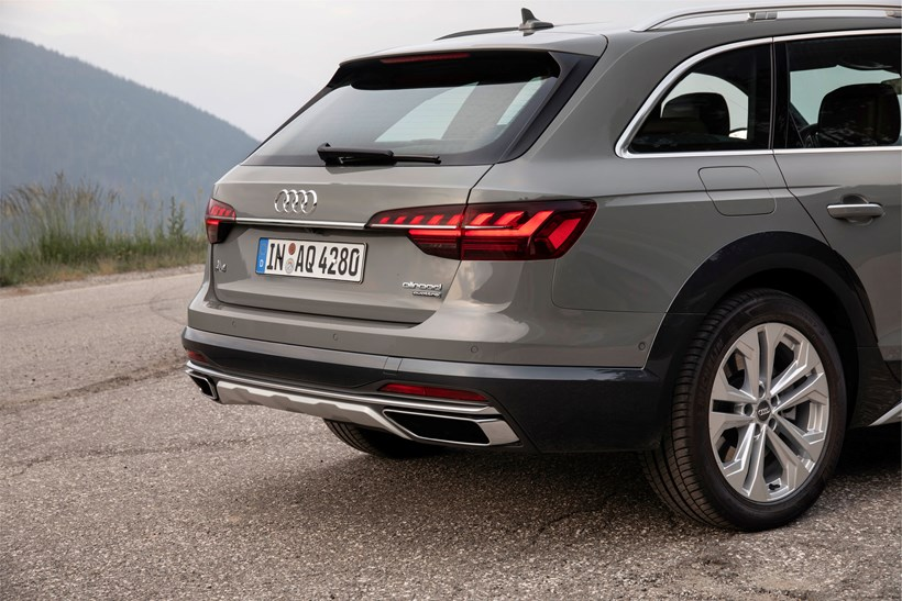 New Audi A4 Allroad