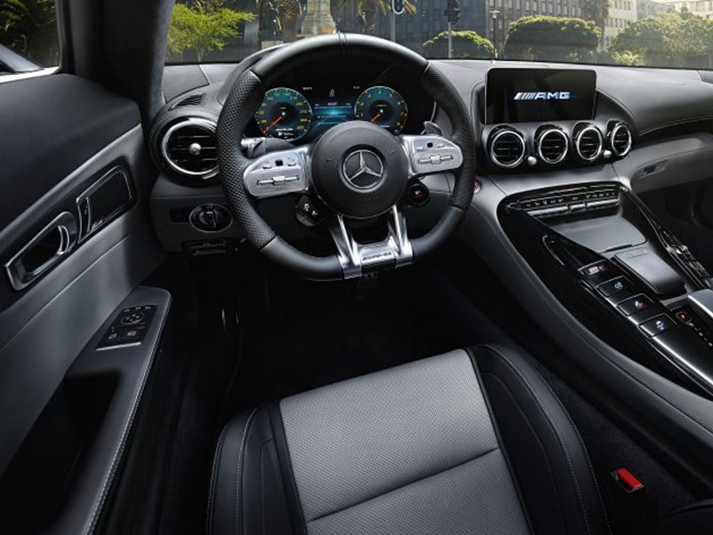 AMG GT Coupe Interior