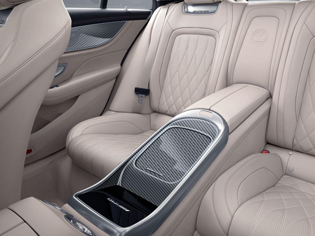 Mercedes-AMG GT 4-Door Coupe Cream Interior
