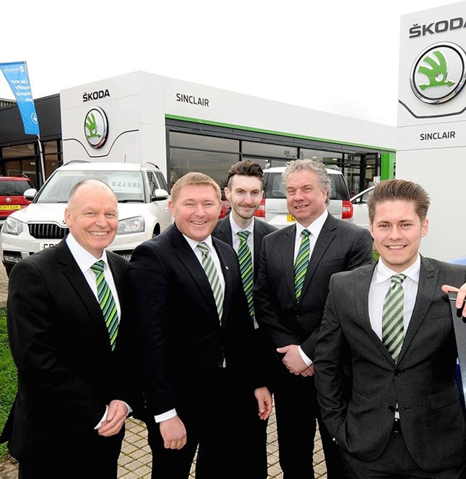 Skoda Sinclair team