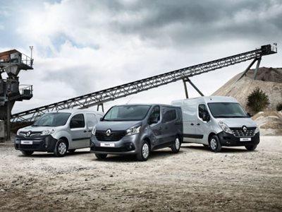 New For Old Renault Van Scheme