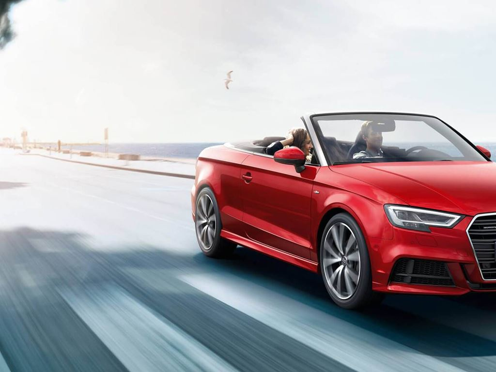 A3 Cabriolet front view