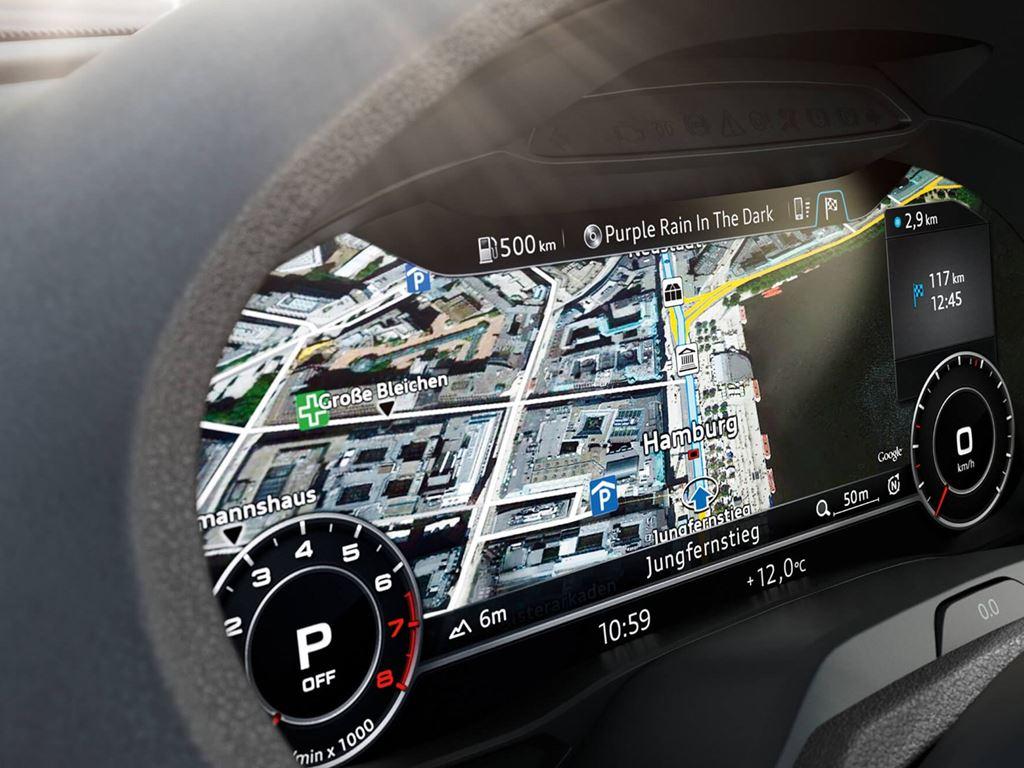 A3 Cabriolet Dashboard