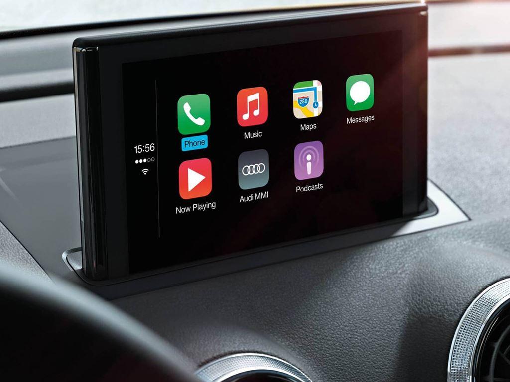 A3 Cabriolet screen