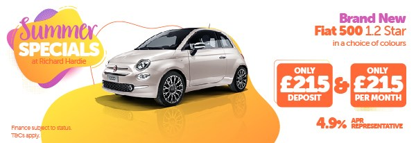 Summer Special Brand New Fiat 500 1.2 Star