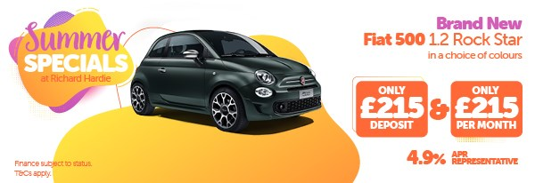 Summer Special Brand New Fiat 500 1.2 Rock Star