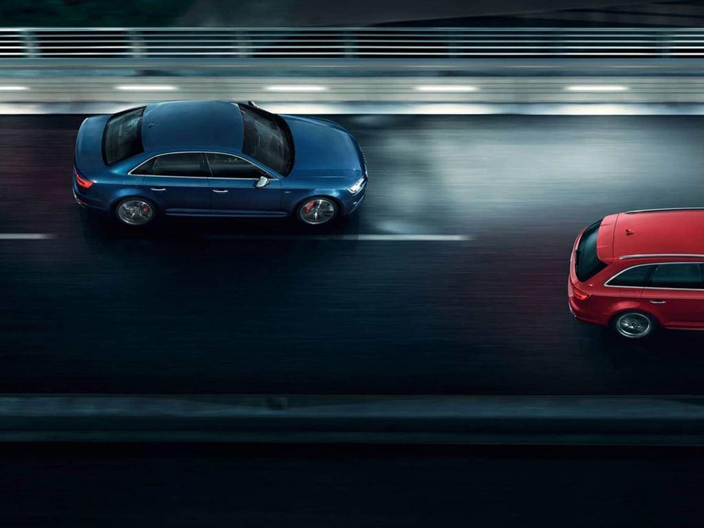 S4 Avants driving