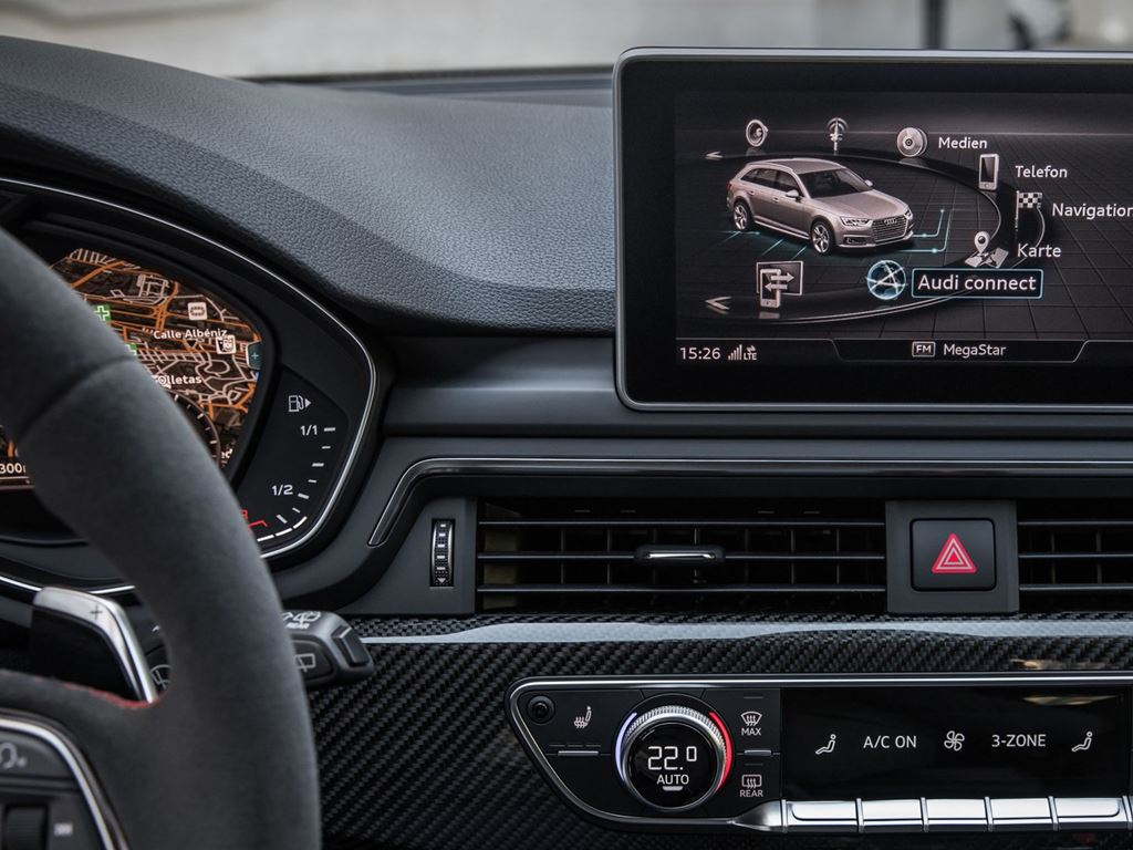 RS4 Avant Infotainment