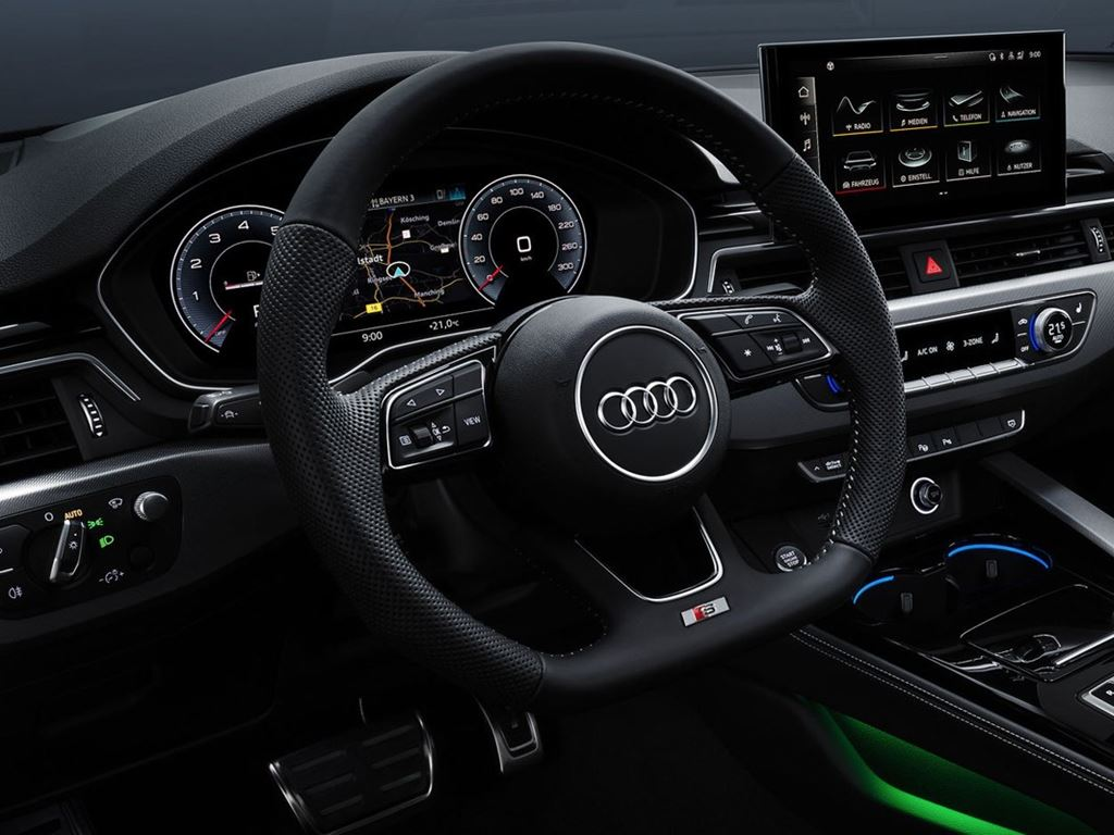 A5 Coupe Steering Wheel