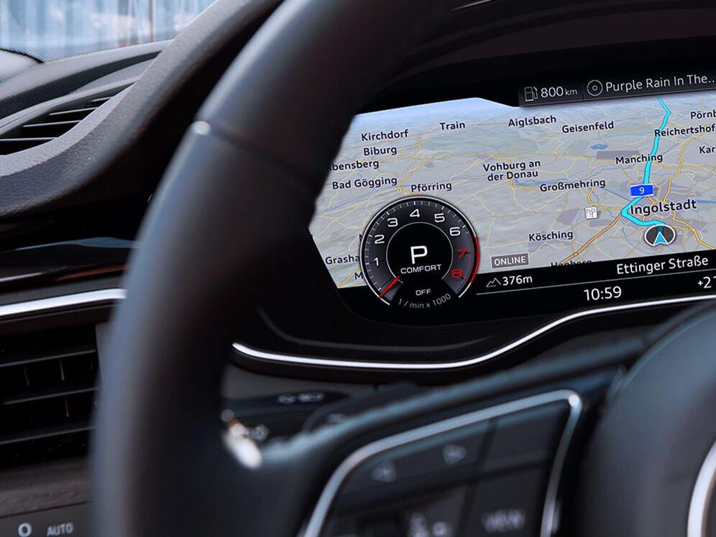S5 Coupe Virtual cockpit