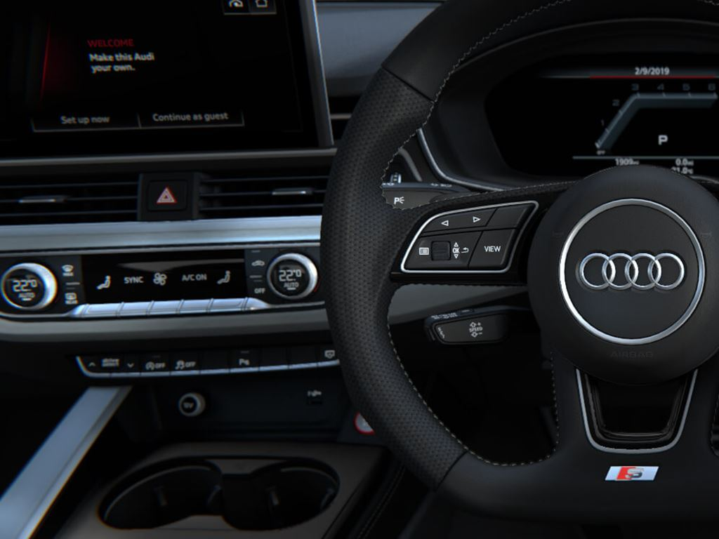 S5 Sportback Steering Wheel