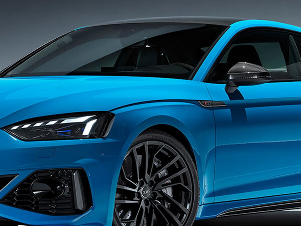 Blue RS5 Coupe Exterior alloy wheel