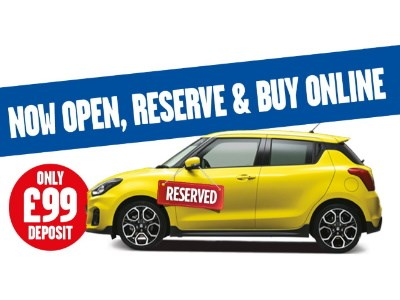 Suzuki Buy Online Reserve for only £99