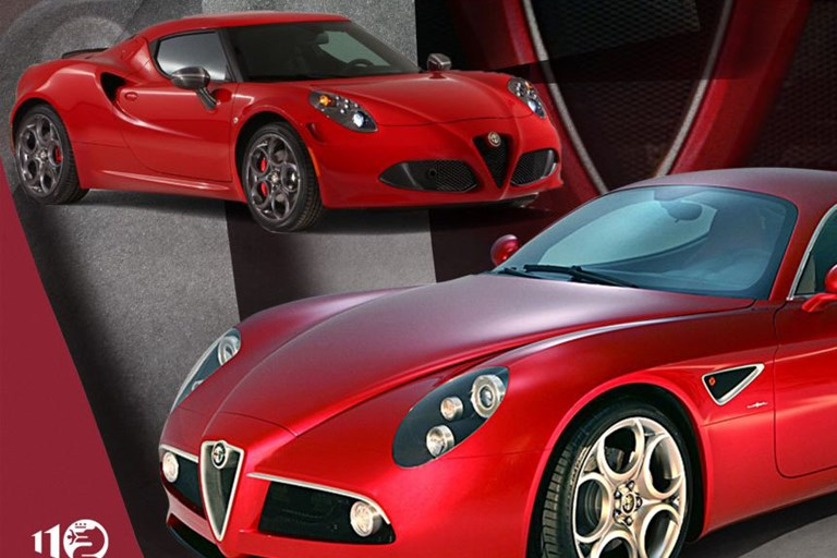 """STORIE ALFA ROMEO"" THE 8C COMPETIZIONE - A SUPERCAR HOMAGE TO TRADITION WITH ONE EYE ON THE FUTURE"