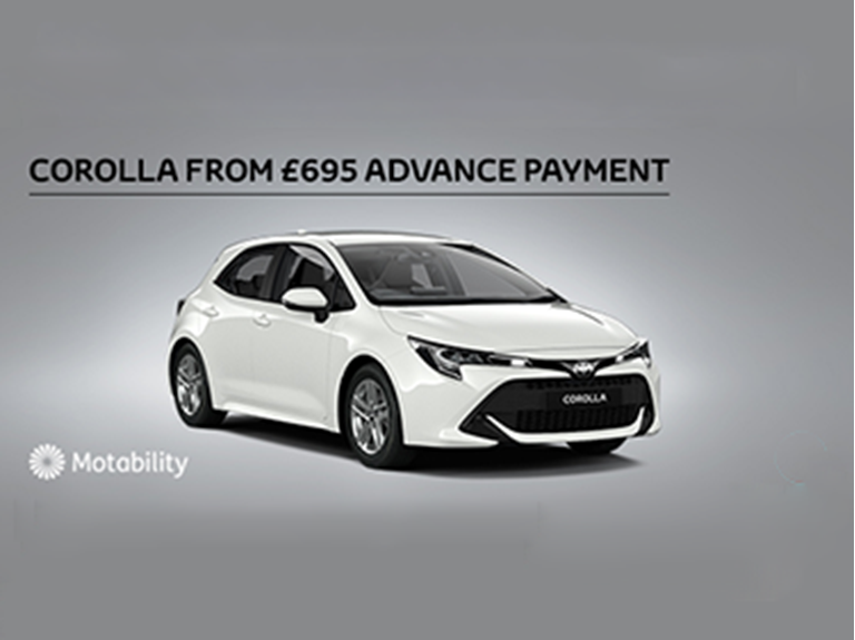 Corolla Motability Offer