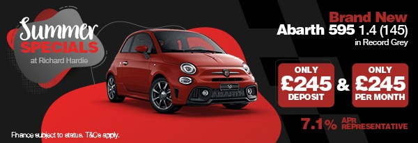 Summer Special Brand New Abarth 595 1.4 (145)