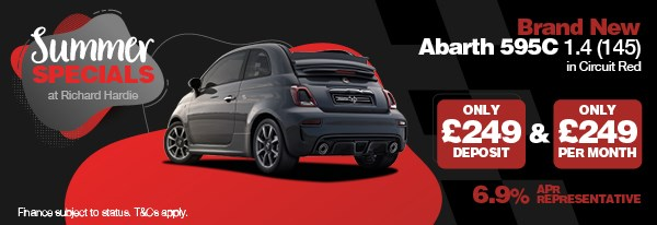 Summer Special Brand New Abarth 595C 1.4 (145)