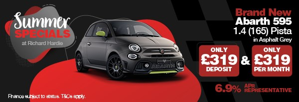 Summer Special Brand New Abarth 595 1.4 (165) Pista